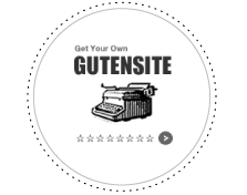 Get Your Own Gutensite